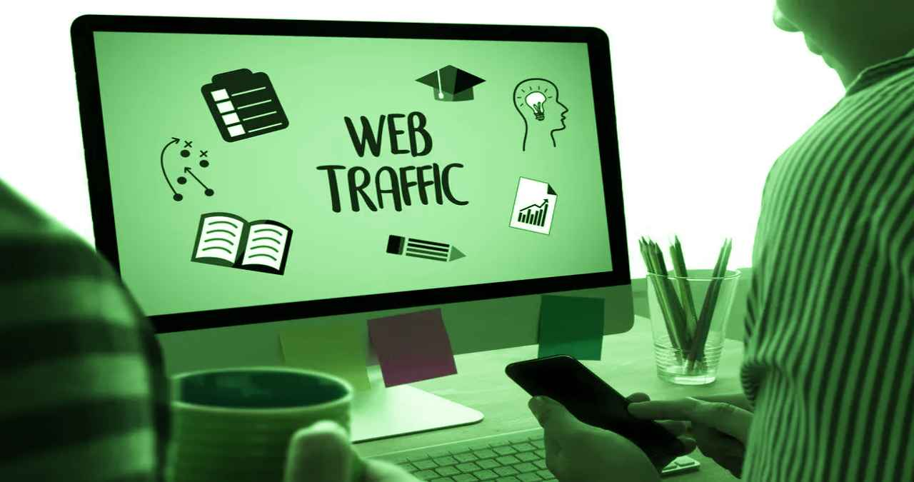 Traffic can be increased significantly with visual content